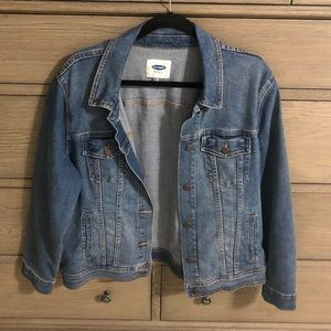 Old Navy Women's Jean Jacket XL